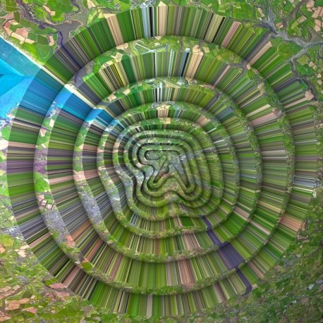 The Designers Republic for Aphex Twin 'Collapse' EP