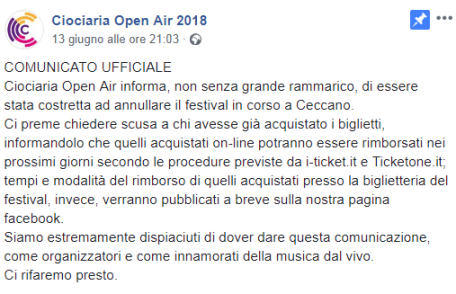 Ciociaria Open Air