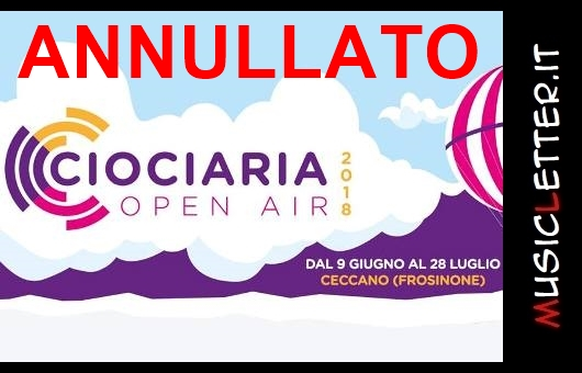Ciociaria Open Air 2018