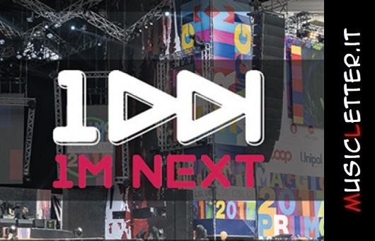 1M Next: il contest del concerto del primo maggio