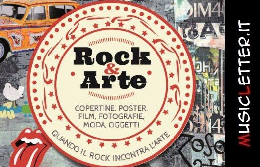 Copertine, poster, film, fotografie, moda, oggetti. Quando il rock incontra l'arte
