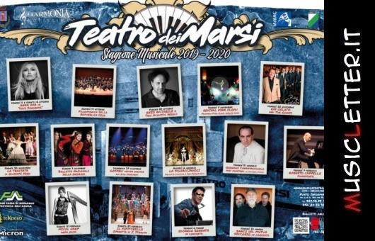 La stagione musicale 2019-2020 del Teatro dei Marsi