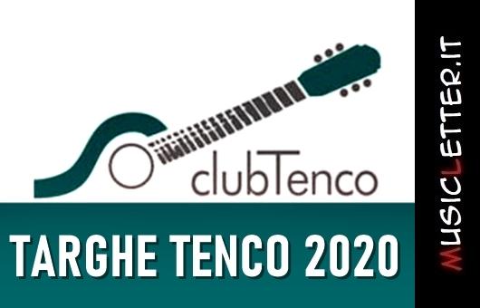 Targhe Tenco: al via l'edizione 2020
