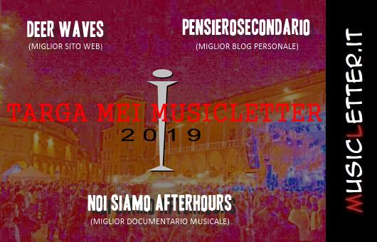 Targa Mei Musicletter 2019