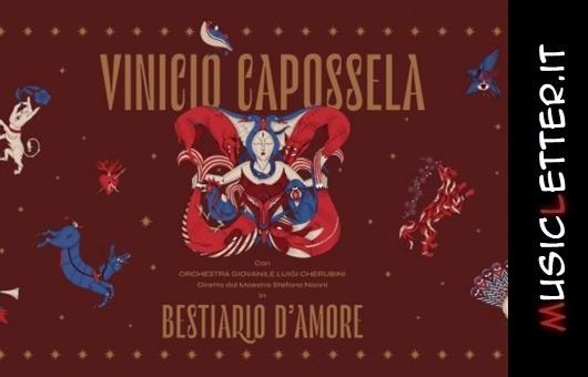 Vinicio Capossela e il suo Bestiario d'amore nel giorno di San Valentino