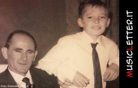 Giovanni Carlo Rossi con il figlio Vasco