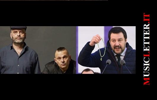 Marco Messina, Luca Persico, Matteo Salvini (immagini di repertorio)