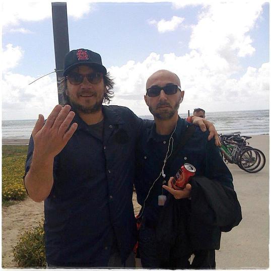 Jeff Tweedy e Luca D'Ambrosio