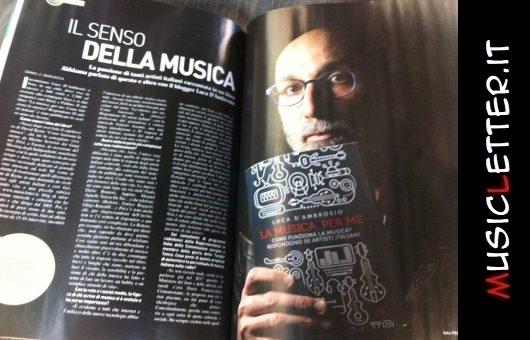 Il senso della musica: intervista su Qui Magazine | Ciociaria Oggi | Latina Oggi